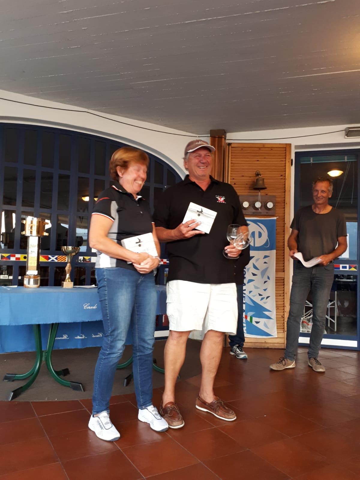 Elisabeth und Herbert Kujan gewinnen am Gardasee