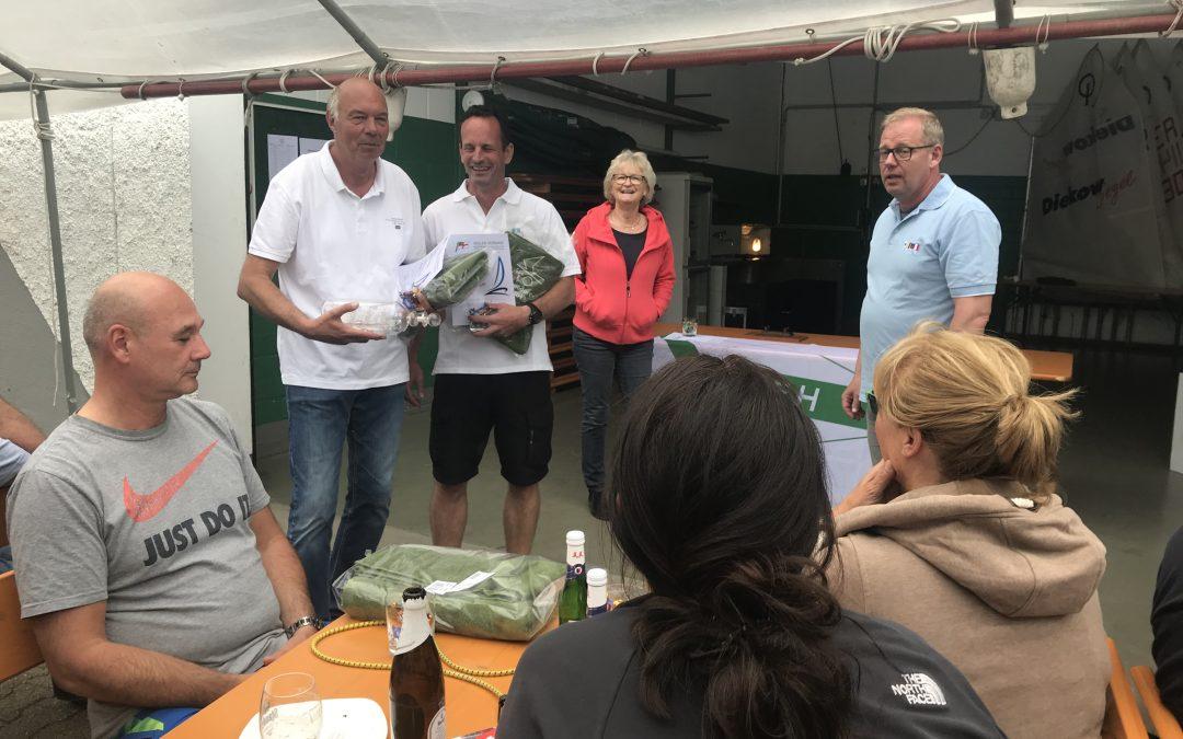 Jürgen Reichhardt und Thorsten van Eyll sind NRW Landesmeister und gewinnen den Commodore Cup