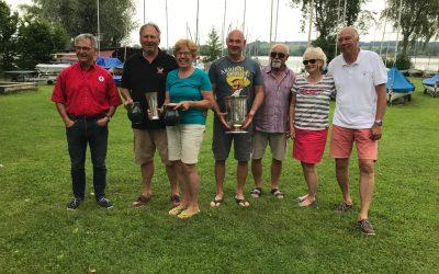 Alex Morgenstern und Heinz Lenz gewinnen am Waginger See