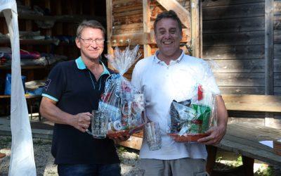 Amir Malki und Jörg Frese gewinnen die Oktoberfestregatta am Pilsensee