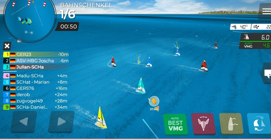 Hattinger Segeltage virtuell