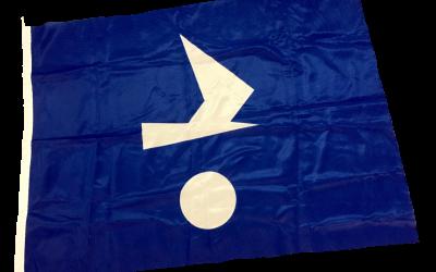 Klassenflagge für die Markise