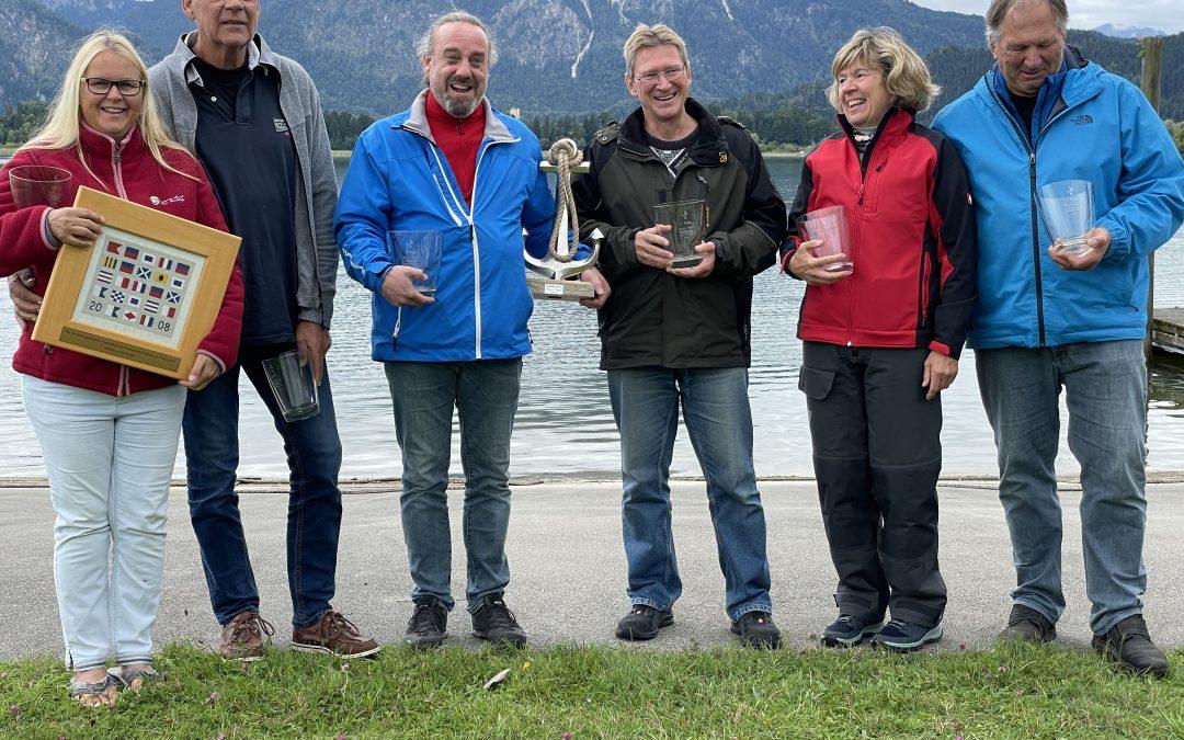 Jörg Freese und Amir Malki gewinnen die Bayrische Rumtopfregatta am Forggensee
