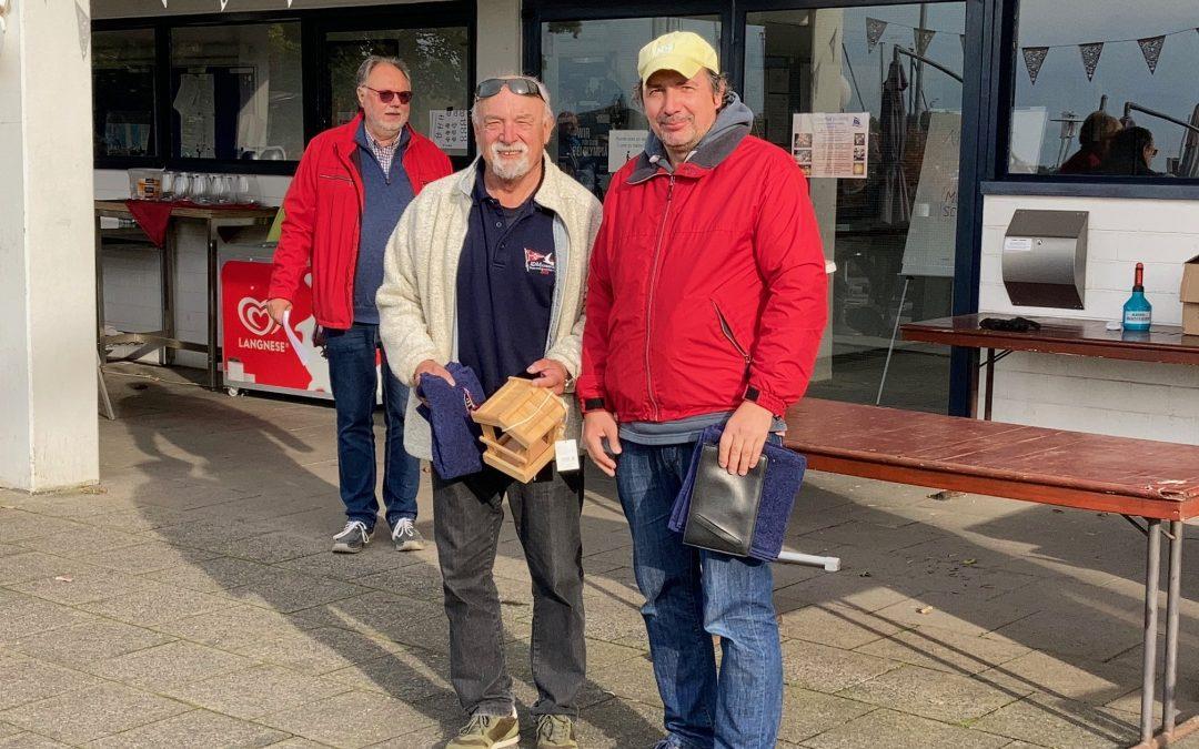 Florian und Heinz Lenz gewinnen in Duisburg die Niederrheinmeisterschaft